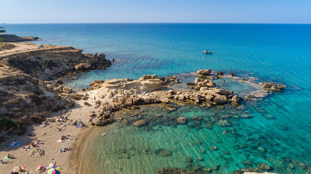 חוף ים בקפריסין